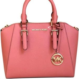 """Michael Kors Bags - Free Gift Michael Kors Grapefruit In """"Ciara"""" Purse"""